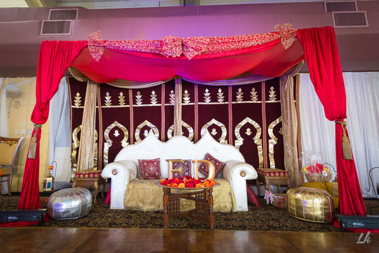 Moroccan inspired wedding celebration